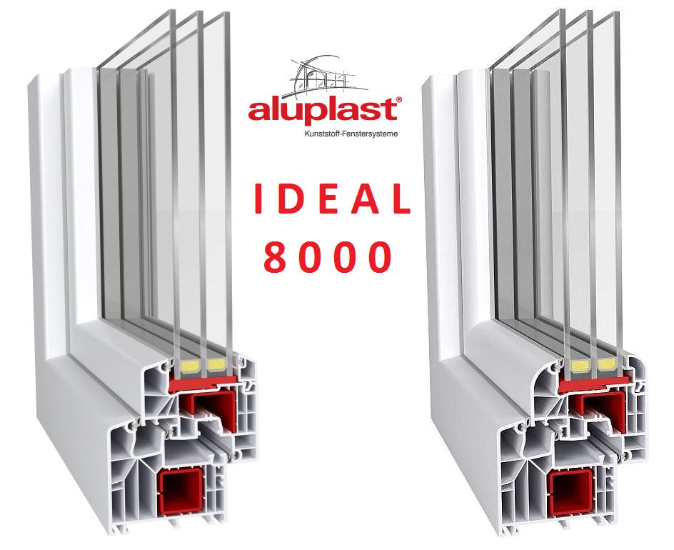 Fenster Ideal 8000 - Die einzigartige Lösung für anspruchsvolle Kunden
