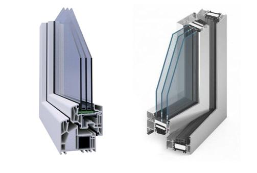 Warmer Fensterrahmen und Warme Kante