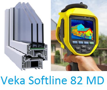 Wärmeschutz auf höchstem Niveau mit Fenster Softline 82 von Veka
