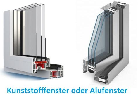 Welche Fenster sind besser - Kunststofffenster oder Alufenster?